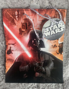 """Hallmark Star Wars Gift Bag 9.5x7.5""""x4 Darth Vader And Other Characters"""