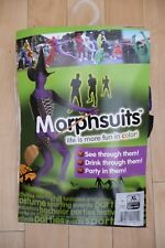 Halloween Purple Witch Morph Suit XL, BNWT
