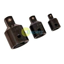 """Step Down Adaptors 3/4 to 1/2 to 3/8 to 1/4"""" drives/ Impact Socket Reducer Set"""