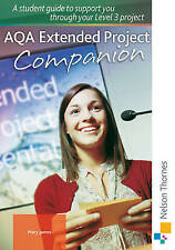 AQA Extended Project Student Companion - ISBN 978 1 4085 0409 3