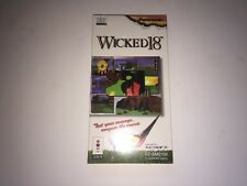 Wicked 18 3DO BRAND NEW SEALED IN LONG BOX RARE 100% COMPLETE