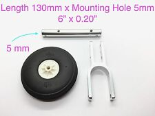 """1 Set 1/10 CNC Shock Absorbing Landing Gear 6"""" for RC Airplane TH010-00803"""