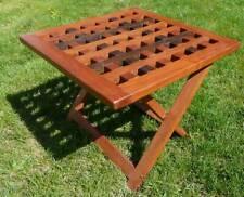 Table pliante Africaine en bois : Bénin : www.art-afric.com