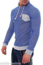 ZAHIDA Men's Jacket Jumper Hoodie Knitted Long Sleeve Shirt Wow NEW