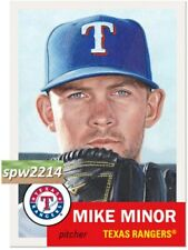 Topps Living Set Mike Minor #288