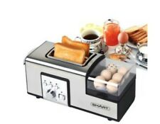 SMART Breakfast Master Toaster, with a toasting rack and transparent PC cover