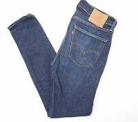 Levis Levi's Hose Jeans 519 W31 L32 31/32 blau stonewashed gerade Denim E923