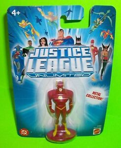 Justice League Unlimited FLASH Metal Action Figure DC Comic Book Super Hero JLU