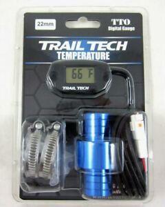 Trail Tech TTO Temperature Meter Digital Gauge 22mm In-Line Hose Sensor 742-EH2