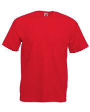 Adult Fruit Of The Loom Valueweight T-Shirt - short sleeve tops, s to 5xl