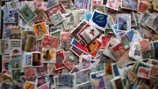 Monde : beau lot de 600 timbres oblitérés différents - beaucoup de pays Lot II.