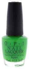 NEW! OPI NAIL POLISH Nail Lacquer in GREEN COME TRUE