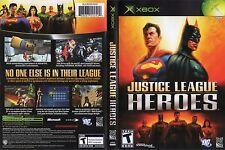 Justice League Heroes Microsoft Xbox DC Comics Batman Superman Wonder Woman Game