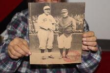 Vintage 1930's Red Sox & Yankees Louisville Slugger Baseball Bat Promo Sign