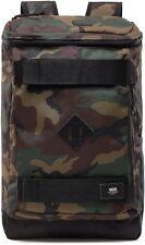 Vans - Hooks CAMO Skatepack (NEW) Backpack Bag SKATE STRAPS Classic Camouflage