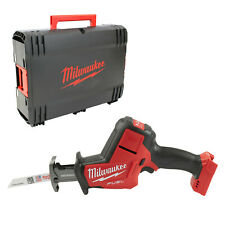 MILWAUKEE M18FHZ-0X 18v CORDLESS FUEL HACKZALL RECIPROCATING SAW BODY ONLY /CASE