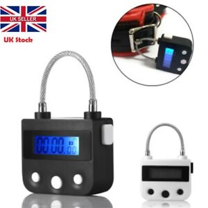 Multipurpose Time Lock For Ankle Handcuffs Mouth-Gag Electronic Timer Bondage UK