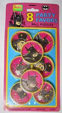 VINTAGE! STILL SEALED! 1991 Unique Batman Returns Party Favors-Ball Puzzles