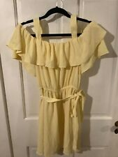 NWT Women's short off the shoulder dress, size 10
