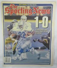 THE SPORTING NEWS Newspaper EMMITT SMITH NFL DALLAS COWBOYS SEPT. 1994 MAGAZINE