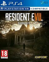 Resident Evil 7 Biohazard PS4 * NEW SEALED PAL *
