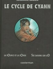 Bourgeon - Le cycle de Cyann - T1 & T2 - N&S N°553/1000 - Casterman 1997
