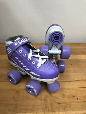 2015 Epic Galaxy Elite Purple Roller Skates Size Youth 13