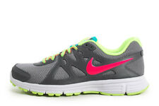 Nike Tennis Shoes 7 Sneakers Womens Lace Up Gray Pink Neon Green 554900-026