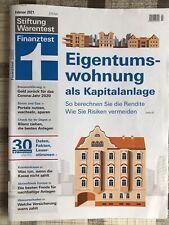 Stiftung Warentest Finanztest 02/2021 Eigentumswohnung als Kapitalanlage