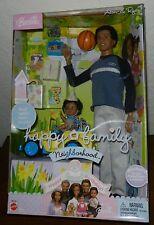 BLACK AMERICAN AA RYAN &  ALAN BARBIE DOLL HAPPY FAMILY BIRTHDAY CAR MIDGE SON