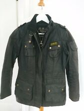 Barbour Ladies' Speedway International Wax Jacket – Black LWX0208BK91 Size 10