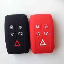 2pcs Fob Remote Key Cover Holder Keyless  for JAGUAR XF XK XKR X-Type S-Type