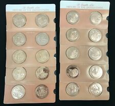 Franklin Mint Proof Bronze History of the US 1870-1975 106pc Set
