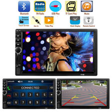 """7"""" Double 2 Din Car Stereo Radio FM/MP5 Player Bluetooth HD 1080P Touch Screen"""
