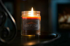 🧡 Fireplace Scented Jar Candle Create ultimate fireplace ambience 6.5 oz 🧡