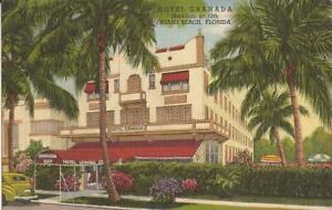 Miami Beach, FLORIDA - Hotel Granada - 1945