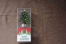 Christmas Wine Bottle Stopper - Christmas Tree