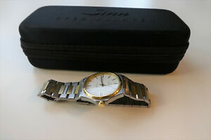 Eterna Kontiki Date Q 115.1558.40 Bicolor Vintage Genta Royal Oak Style Sinn Box