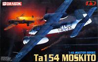 Dragon 5522 Ta 154 Moskito Master Serie Bausatz 1 48