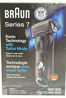 Braun Series 7 w/ Turbo Mode Wet & Dry Electric Shaver 740s-7 & Travel Case