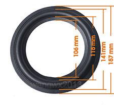 1P For JBL 6.5 inch Bass Rubber Edge Speaker Surround Repair Repair Woofer Parts