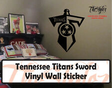 Tennessee Titans Sword Custom Vinyl Wall Sticker