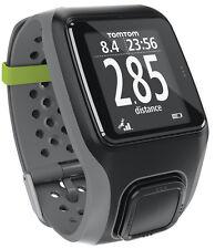 TomTom Multisport GPS Uhr Laufen, Fahrrad, Schwimmen SportWatch Refurb OVP grey