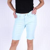 Levi's Bermuda Iced Aqua Twill blau Damen Shorts Größe W27