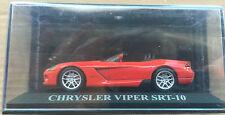 "DIE CAST "" CHRYSLER VIPER SRT-10 "" DREAMS CAR ALTAYA SCALA 1/43"