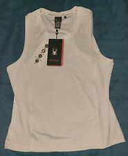 New listing Women's Spyder Active X-Large White Workout Shirt Style # SP304
