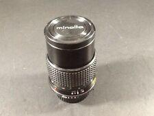 Minolta Lens MD Tele Rokkor-X 135mm 1:3.5 49MM Sliding Hood Instructions 2 Caps