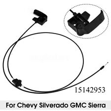 Hood Release Cable Front Left For Chevy Silverado 1500 2500 GMC Sierra 1999-2007