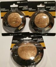 Milani Marbelized Baked Eyeshadow DRENCH IN GOLD #606, Lot of 3, new .