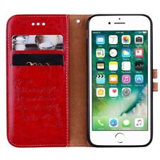 Iphone 6S Faux Leather Flip Case with Magnet Clip ~ Phone Cover